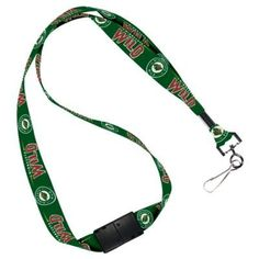 """MINNESOTA WILD OFFICIAL LOGO LANYARD KEYCHAIN by NHL. $7.94. Show your team pride everywhere you go. Perfect for the office, school, gym, or game days. Top-quality, officially licensed lanyard. Keychain or credential/badge holder clips on for easy release. Measures 22"""" in length. Officially licensed by the league and the team. Official team logos, official team colors.. Save 60%!"""
