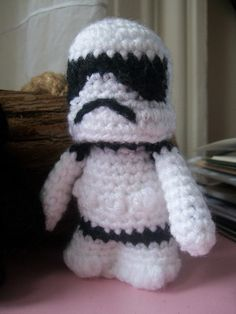 Stormtrooper Pattern  Star Wars Amigurumi by SnorkersImaginarium, $3.19