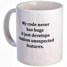 Your code never has bugs!