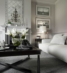 I'm keen on this marvellous farmhouse living room Glam Living Room, Classic Living Room, Eclectic Living Room, Elegant Living Room, Living Room Interior, Living Room Designs, Living Room Decor, Formal Living Rooms, Ambiance Hotel