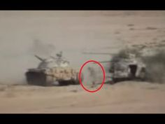 Soldier Sneaks Up To Tank And Places Explosives. Yemen rebel runs up to T55 and places explosives. The rebel was hidden in an already destroyed tank. The T55 approached firing its gun and the rebel ran out planted the explosives under the hull and ran back to his hiding spot. Military Videos. Military Videos, Military News, Hiding Spots, Sneaks Up, Armed Forces, Rebel, Gun, Places, Special Forces