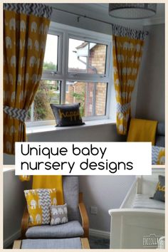 Unique custom made baby nursery designs