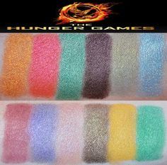 The Hunger Games Makeup Palette