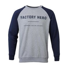 Knowledge Cotton Apparel Organic Factory Hero Sweatshirt | Brothers We Stand