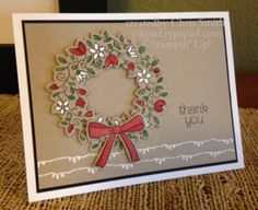 Crumb Cake Wreath by Chris Smith,   Circle of Spring, Tin of Cards, Wonderful Wreath