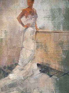 "Saatchi Art Artist Fanny Nushka Moreaux; Painting, ""NY Angel II, 2015"" #art"