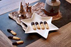 Recette de bredele de Noël alsaciens : les langues chocolatées
