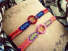Dream Catcher/Couple Friendship bracelet by IslandChula on Etsy, $17.50