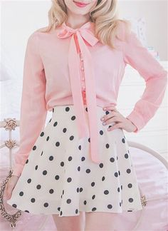 Awesome 43 Charming Girly Outfit Ideas For Spring adrette Kleider 43 Charming Girly Outfit Ideas For Spring Adrette Outfits, Girly Girl Outfits, Preppy Outfits, Fashion Outfits, Pink Skirt Outfits, Princess Outfits, Stylish Outfits, Pastel Fashion, Kawaii Fashion