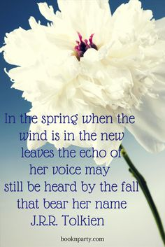 Ode to spring #quotes #tolkien #spring
