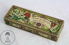 Vintage Box of Roger & Gallet Soap - Savon Muguet Paris - Lily Of The Valley
