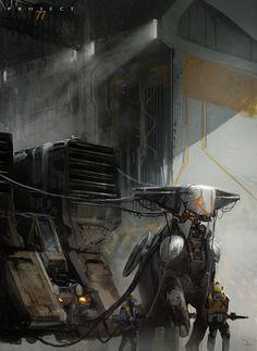 Project 77 Concept Art by Martin Deschambault | Sci-Fi | 2D | CGSociety