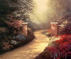 Morning Light ~ Thomas Kinkade
