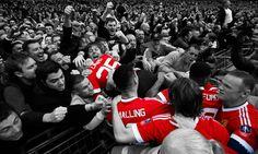 united celebration wembley