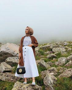 65 ideas fashion style hijab clothes for 2019 Hijab Casual, Casual Chic, Hijab Chic, Casual Outfits, Muslim Fashion, Modest Fashion, Fashion Outfits, Bollywood Fashion, Fasion