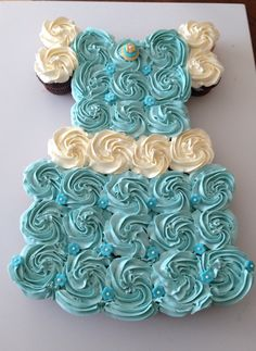 Cinderella cupcake dress