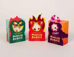 Monsters Packaging!  Porque mesmo sendo inspirada em Monstros, uma embalagem não pode assustar! Tem que impressionar e conquistar!