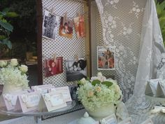 Vintage welcome table from www.labottegadelsogno.it wedding planner