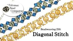 How to Make a Diagonal Stitch Bracelet (Beadweaving 250)