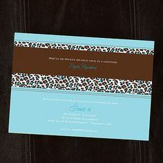 Wild Celebration Shimmer Invitation - Palm - Sweet Sixteen Invitations - Sweet 16 Invites - Sweet Sixteen Ideas