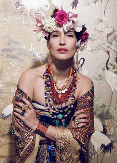 Fashion goddess Tiany Kiriloff | In Frida I trust... | BELMODO.TV