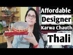 ये सुहाग की थाली हर सुहागिन महिलाओं के पास होनी चाहिए👸karwa chauth thali review & unboxing 💁 #Suhag - YouTube