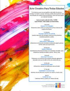 Arte Creativo para todas Edades. MPL Ref Dept, June 2014.