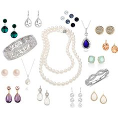 I love long earrings, pearls, and bling!  Don't love studs or small earrings.
