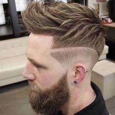 Inspiração de Corte de Cabelo  Que tal ousar um pouco no corte?  Loftmasculino.com para  Dicas... # Use #LoftMasculino - #barber #barbershop #barba #cabelo #hair #hairstyle #barbudo #homem #men #man #modamasculina #itboy #modaparahomens #corte #estilo #style #ootd