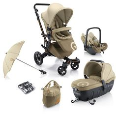 Concord Poussette trio neo travel set avec coque air et nacelle sleeper beige