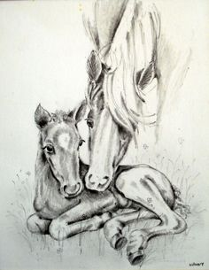 """Mother and son"" Graphite"