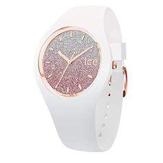 cd4f904693d58 Ice-Watch – ICE lo White pink – Montre blanche pour femme avec bracelet en  silicone