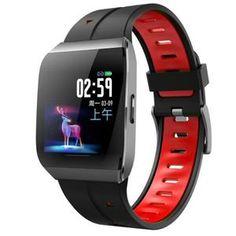 Bracelet Intelligent Sport Fitness Tracker moniteur de fréquence cardiaque IP68 Étanche - Rouge Bluetooth, Heart Rate Monitor, Smart Watch, Sport, Samsung, Watches, Fitness Tracker, Ios, Smartwatch