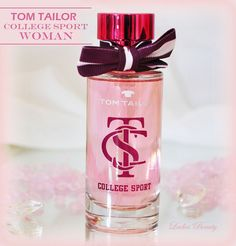 Ladies' Beauty... makes you feel pretty: Tom Tailor 1962 College Sport Woman http://huhu-landei.blogspot.de/2014/08/tom-tailor-1962-college-sport-woman.html #TomTailor #Rossmann #Parfum #Duft #CollegeSport