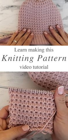Learn how to work this easy knitting stitch by watching this free video tutorial! Keep reading for tips on how to make this pretty knitting stitch. HOW TO MAKE THIS EASY KNITTING STITCH? This easy kni Simply Knitting, How To Start Knitting, Free Knitting, Knitting Stiches, Circular Knitting Needles, Stitch Patterns, Knitting Patterns, Crochet Patterns, Crochet Needles