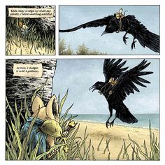 Read 12 Pages From David Petersen's 'Mouse Guard: The Black Axe' Hardcover