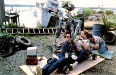 Filming Johnny 5 Short Circuit