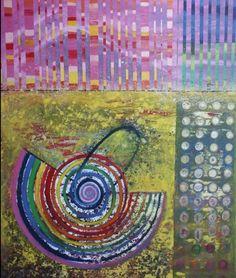 Luis GERALDES. Oil on canvas. 152x122 cm