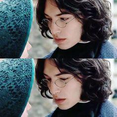 "kanuvina: "" jathis: "" fireworkofdec: ""Ezra Miller / Madame Bovary / Leon Dupuis "" I like the glasses "" He's so pretty """
