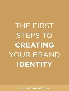 TheCrownFox | http://www.TheCrownFox.com | Branding + Design | Creating Your Brand Identity + Inspiration Boards