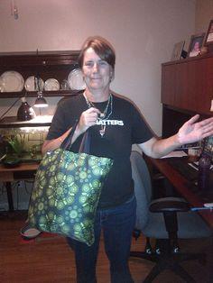 Green Bag Lady--CANADA