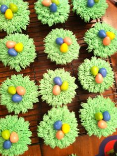 Easter/Spring cupcakes!