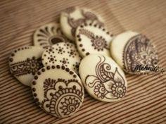 Henna Cookies - Mehndi NYC
