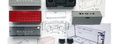 Bandar Antabi talks about the Big Jambox wireless speaker by Dezeen. Jawbone's Bandar Antabi explains how the company took a holistic approach to designing their Big Jambox wireless speaker. Big Speakers, Home Speakers, Wireless Speakers, Bluetooth, Id Design, Sound Design, Graphic Design, Design Thinking Process, Design Process