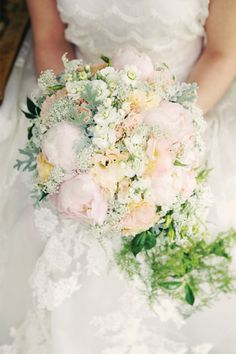 the most amazing springtime bouquet. Magnolia Rouge: Spring pastels shoot by Katie O'Neill