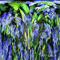 'Blue Splat I' - http://fineartamerica.com/featured/blue-splat-i-jeff-mcjunkin.html via @fineartamerica