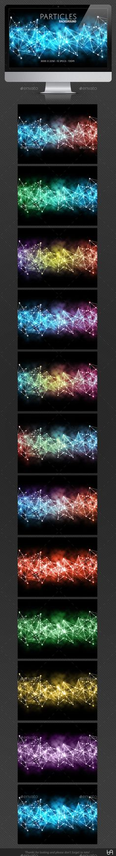 Particles Backgrounds by tracieandrews Particles Backgrounds A set of 12 abstract backgrounds in various colours.3000px x 2250px 72 dpi 12 JpegsThanks for looking and pl