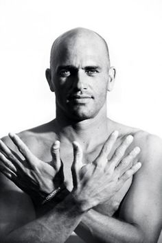 Kelly Slater. Some lovely hands for you @Bekah Gallagher