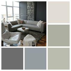 shades of grey  cornforth white, manor house, lamproom grey, plummet, downpipe...marv