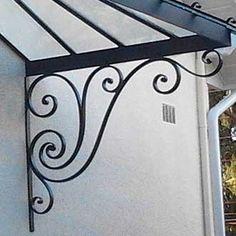 fabricant marquise avec volute marquise en acier lyon marquise auvent marquise porte d 39 entr e. Black Bedroom Furniture Sets. Home Design Ideas